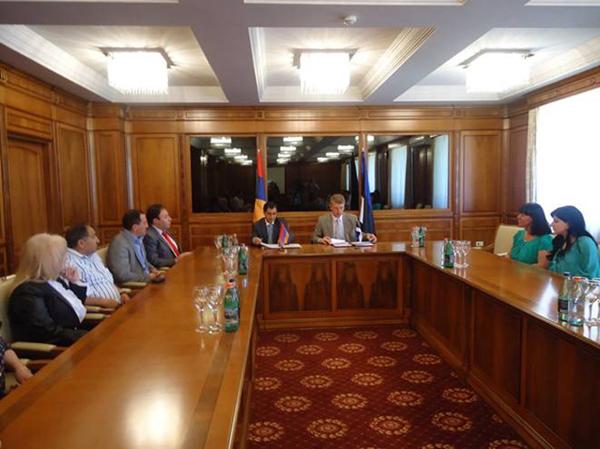 Tsaghkadzor-Kuressaare Cooperation